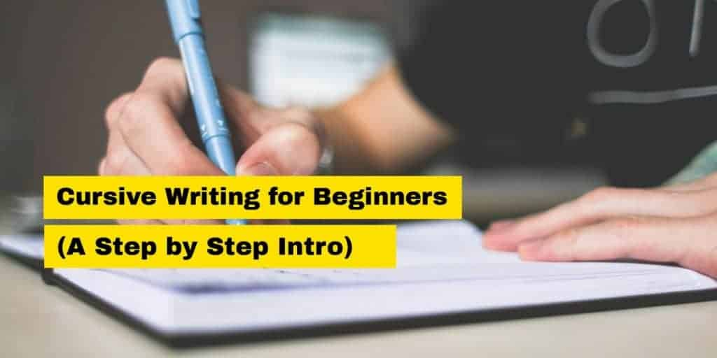 cursive writing for beginners