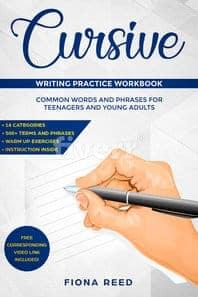 Cursive Writing Practice Workbooks